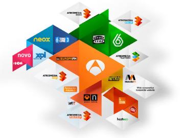 Todos los logos de Atresmedia