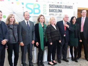 Foto de familia de Sustainable Brands