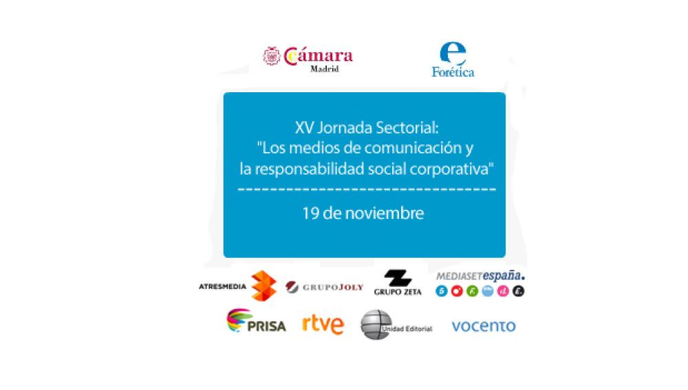 Atresmedia participa en la  jornada sobre Responsabilidad Corporativa y Medios de Comunicación organizada por la Cámara de Comercio y Forética