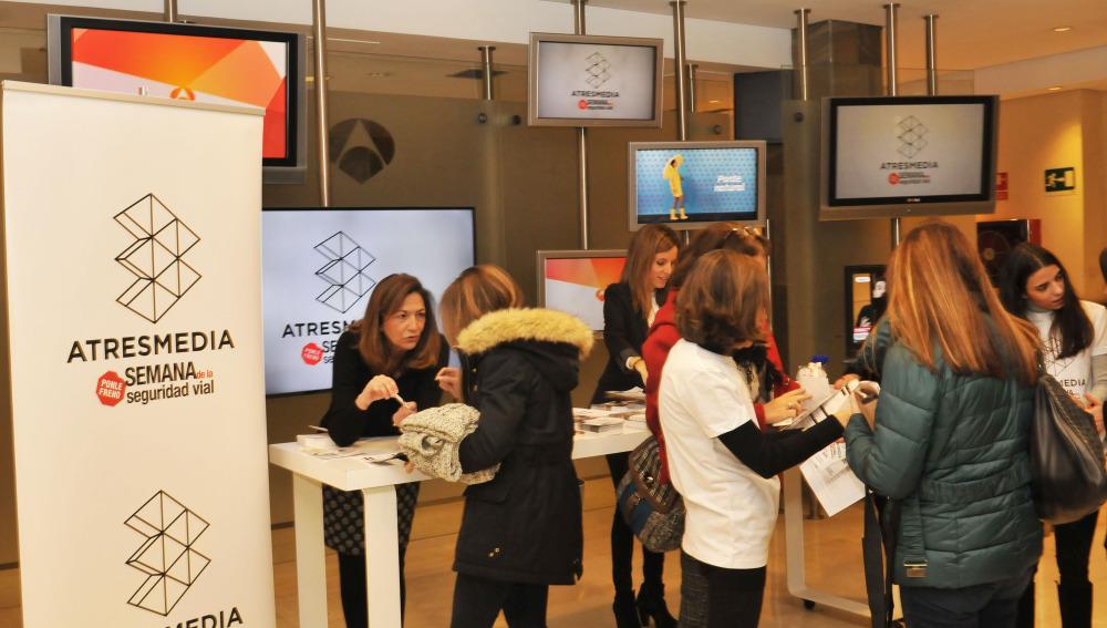 Atresmedia eleva su compromiso con la Seguridad Vial a través de una semana de concienciación dirigida a sus empleados