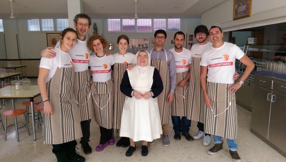 Atresmedia renueva su compromiso con el comedor social Santa María Josefa