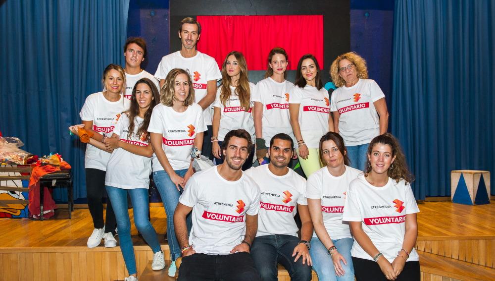 Más de un centenar de empleados de ATRESMEDIA y SEUR celebran el 10º aniversario de la Fundación ATRESMEDIA con una acción especial de voluntariado