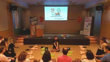 Cerca de 200 empleados de Atresmedia se forman en RCP y uso de desfibriladores en el Día Mundial del Corazón