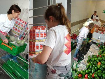 Voluntarios Atresmedia participan en la semana del Give & Gain ayudando en el Comedor Social Santa María Josefa