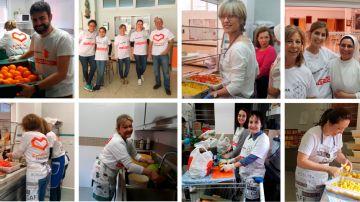 En 2019 los Voluntarios Atresmedia aumentan su apoyo al Comedor Social Santa María Josefa de Vallecas