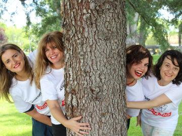 Cristina, Asun, Alba y Sandra, las protagonistas de esta nueva aventura