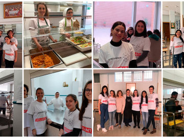 En 2020 aumentamos nuestro apoyo al Comedor Social Santa María Josefa de Vallecas