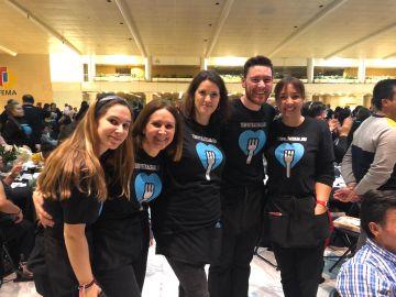 Voluntarios Atresmedia vuelven a colaborar con la iniciativa solidaria 'Te invito a cenar'