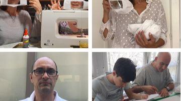 Realizamos 2.500 mascarillas para facilitar la comunicación de las personas sordas y su entorno