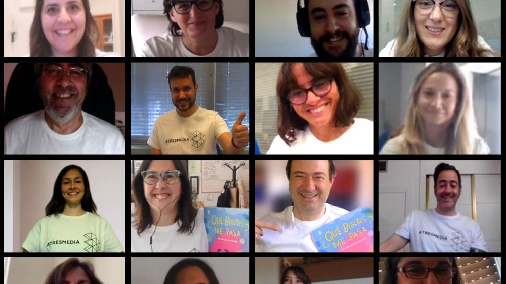 Los Voluntarios de Atresmedia trabajan juntos para ayudar a reducir la exclusión social y laboral