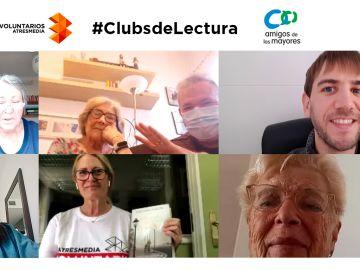 Amigos de los Mayores se une a los Clubs de Lectura para personas mayores coordinados por Voluntarios Atresmedia