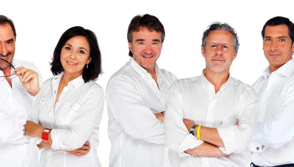 Grupo de presentadores de Onda Cero