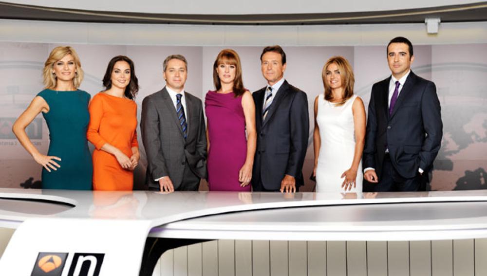 Equipo de Antena 3 Noticias