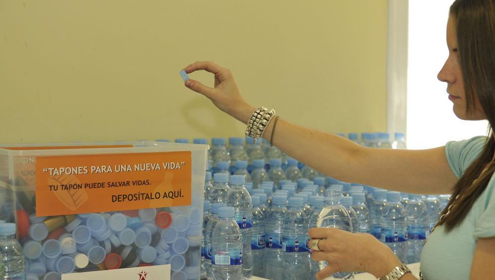 El Grupo Antena 3 se suma a la campaña  Tapones para una Nueva Vida