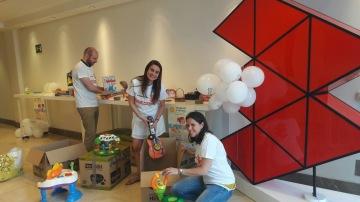 Éxito en la campaña 'Comparte y Recicla' de recogida de juguetes en Atresmedia