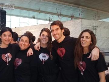 La iniciativa solidaria 'Te invito a cenar' celebra su quinto año consecutivo