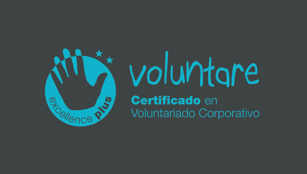 Atresmedia recibe el Certificado Excellence Plus en Voluntariado Corporativo