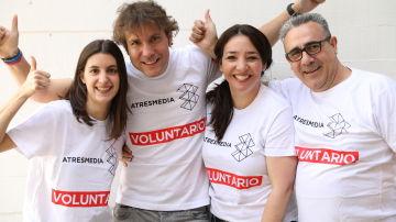 Voluntarios Atresmedia en Bolivia