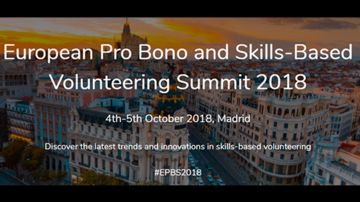 Atresmedia, media partner del mayor encuentro europeo de Voluntariado Pro Bono organizado por la Fundación Hazloposible