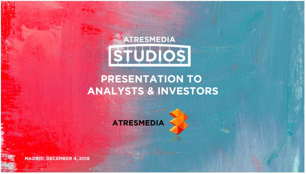Presentación Atresmedia Studios