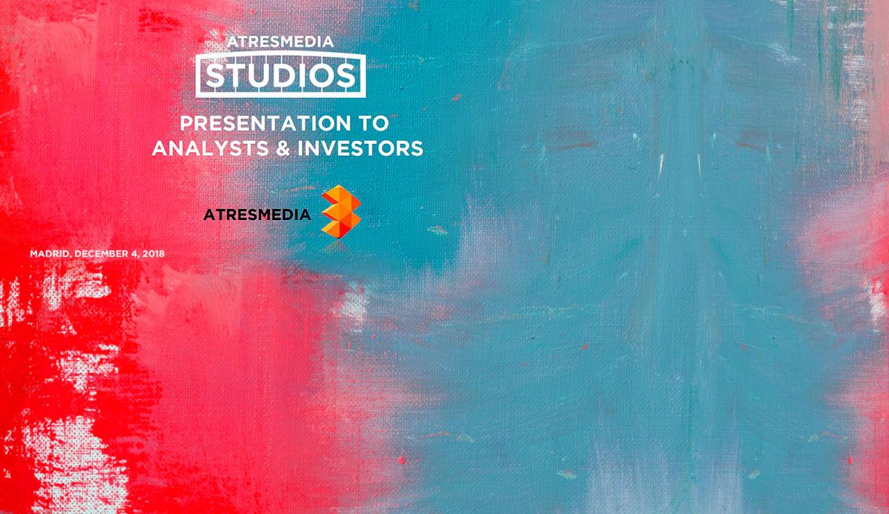 Presentación sobre Atresmedia Studios