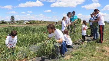 Voluntarios Atresmedia disfrutan de un día en la naturaleza junto a los usuarios de la Fundación Aldaba