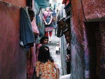 Como los gatos, Bombay también es parda y por la noche es mucho más bella