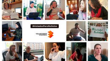 Lanzamos el proyecto de voluntariado online #AisladosPeroNoSolos durante el periodo de aislamiento obligatorio