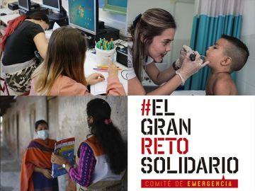 Atresmedia colabora con #ELGRANRETOSOLIDARIO del Comité de Emergencia por los afectados de la pandemia